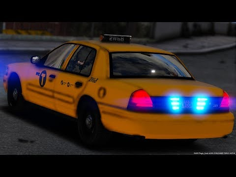 [GTA-LSPDFR] N.Y.P.D. Unmarked Taxi | New York Police Department #3