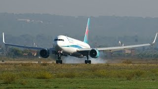Jet2 B738 + FirstChoice B767-300 + EasyJet A320s at Palma de Mallorca Airport [PMI-LEPA]