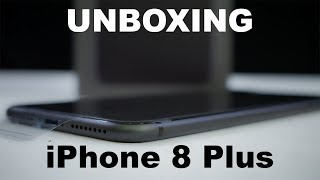 UNBOXING - iPhone 8 Plus in SPACE GRAY