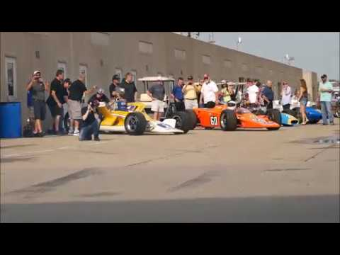 SVRA Vintage Cars Indianapolis Motor Speedway - 6.18.2017 (HD)