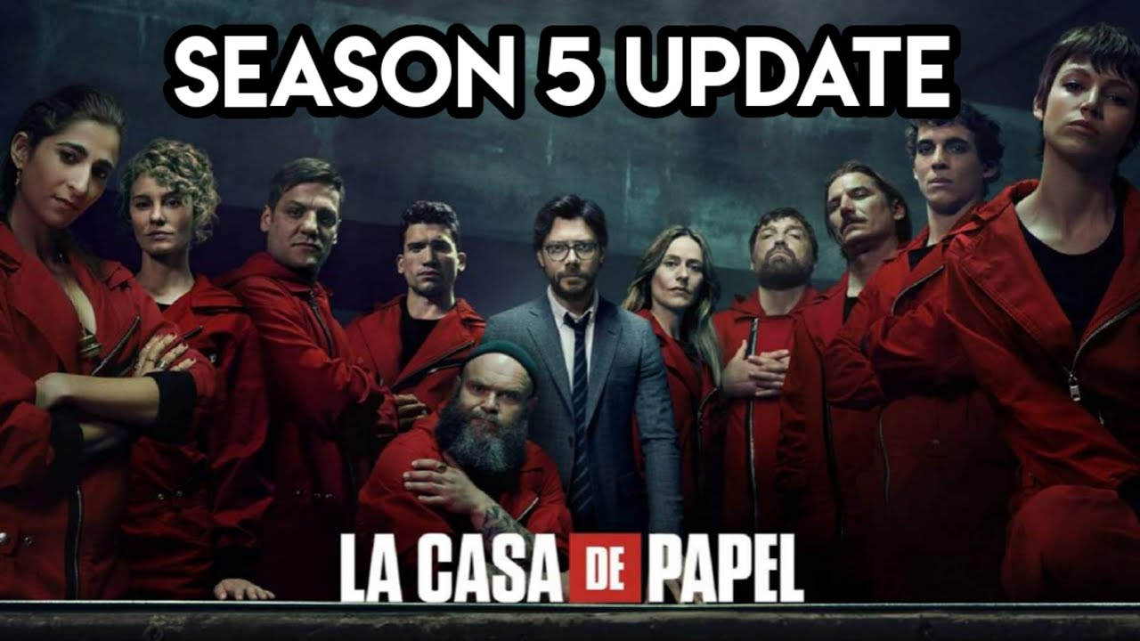 Download Money Heist Season 5 Release Update   Money Heist Season 5 Hindi Dubbed Update   Netflix  