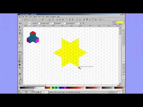 Inkscape - building blocks