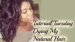 Natural Hair Dye: One