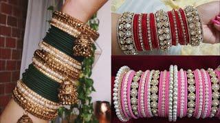 फैंसी चूड़ियां Latest bridal bangles | Bridal Bangles Set For Wedding | Dulhan Bangles Design
