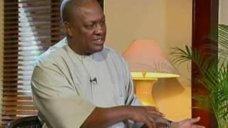 David Ampofo interviews Vice President John Dramani Mahama on Ghana