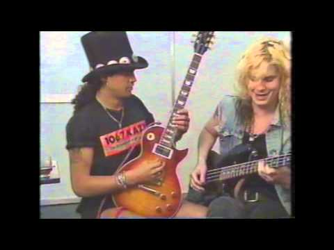 Guns N Roses 90's Interviews Part 3