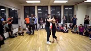Freddy Marinho & Andressa Marinho- Horizontal Axis Zouk Workshop - Fall For Zouk NY 2015