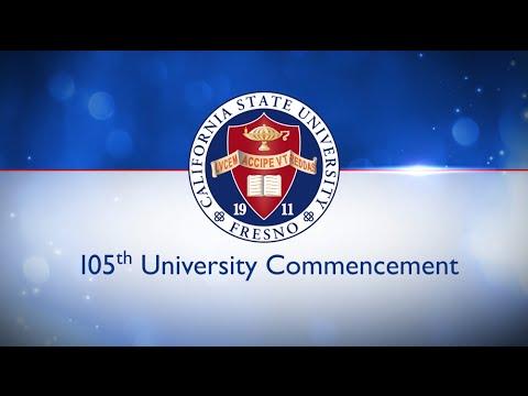 105th University Commencement Ceremony