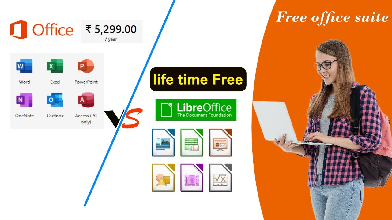 Best Free Ms Office Alternative Libreoffice Suite Free Office Suite Fee Excel Youtube