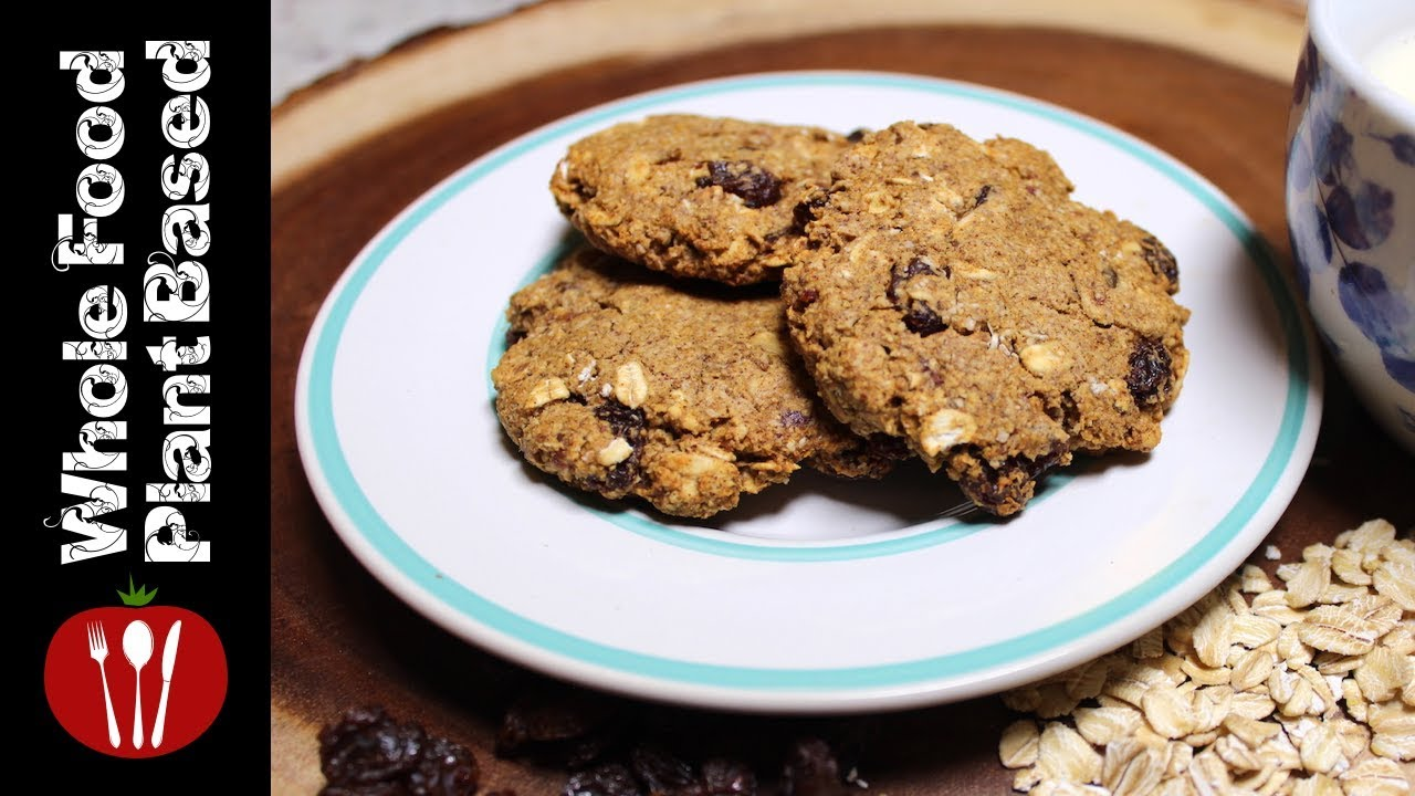 Whole Plant Based Food Oatmeal Cookies