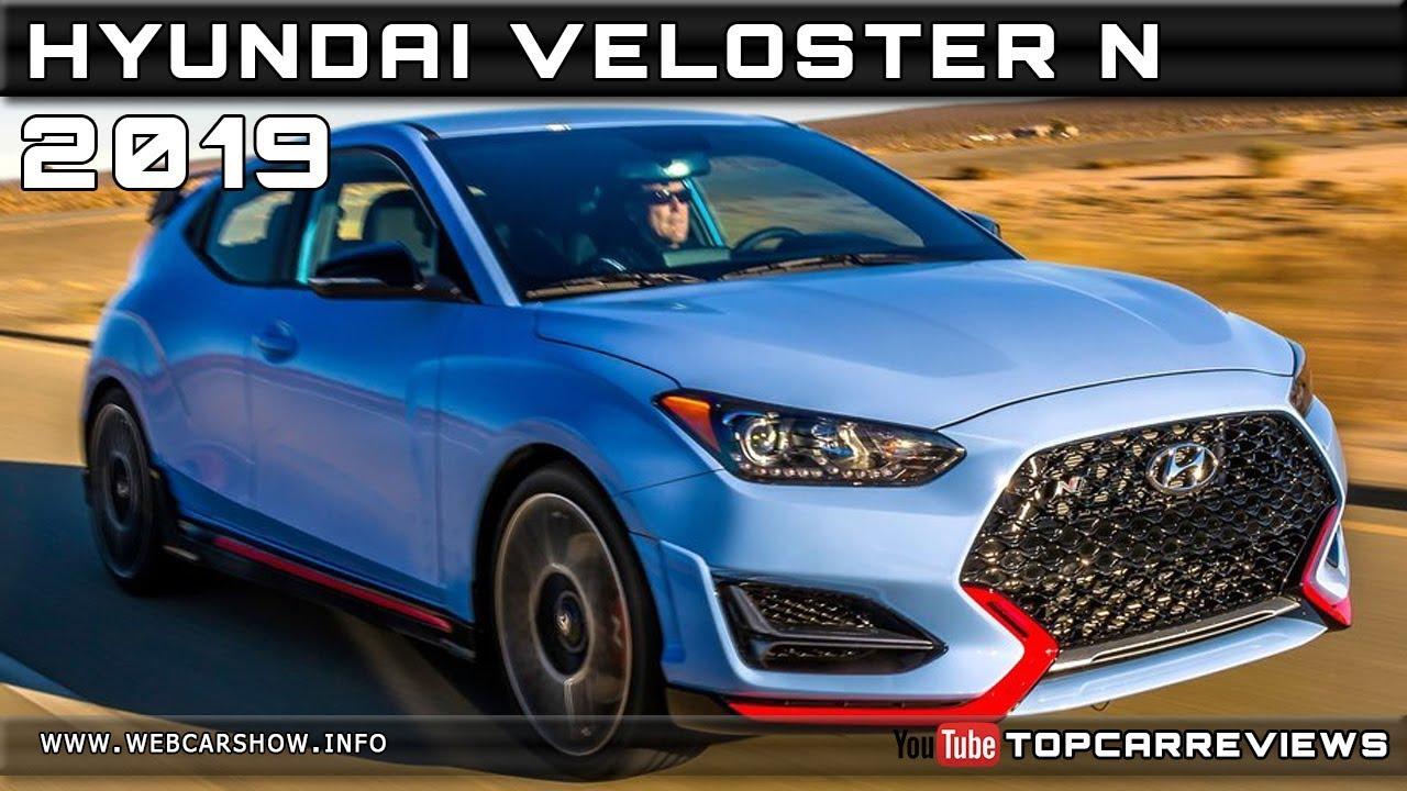 2019 HYUNDAI VELOSTER N Review Rendered Price Specs Release Date
