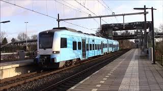 Treinen in Hoevelaken en Barneveld 02 01 2018