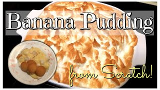 Cook With Me!  Old Fashioned Banana Pudding Recipe