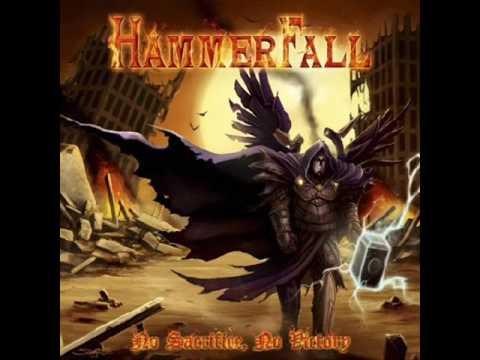 hammerfall  -  any means necessary ( lyrics )