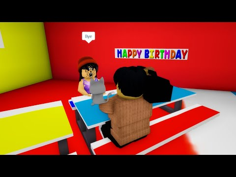 Cursed birthday girl finally leaves me alone in Roblox BrookHaven RP!