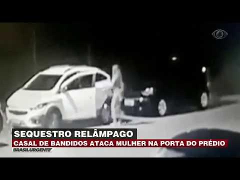 Mulher é sequestrada na porta de prédio em Belém
