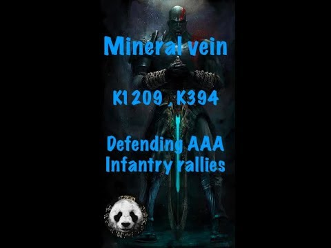 1209 Clash Of Kings , Defending Infantry Rallies Of AAA 394 , Mineral Vein
