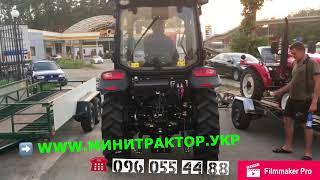 Забираем новый трактор XT-220/ЭКОНОМ 3 Цилиндра/МОНСТР Фотон 50 кобыл с кабиной Скоро новый обзор!(, 2018-09-05T07:33:32.000Z)