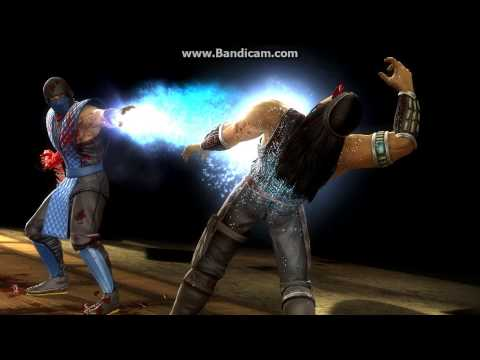 MKKE Sub-Zero Fatality (Spinal Smash) HD