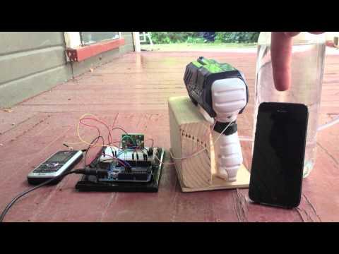 Cat water gun hack using a motion sensor and Arduino