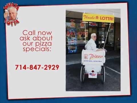 Pizza Delivery Southern California - Whata Lotta Pizza