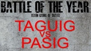 RSC Battle of the Year Battle 4 Taguig vs Pasig