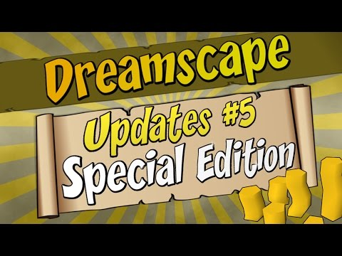 Dreamscape | Updates PART #5 | PLAYER OWNED SHOPS + GIVEAWAY!