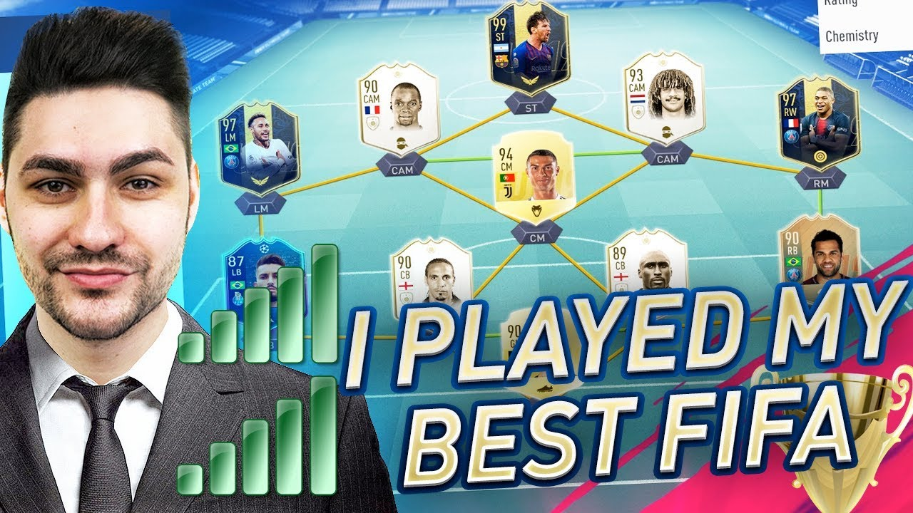I FINALLY WON THE BATTLE vs THE EA SERVERS !!! FIFA 19 WEEKEND LEAGUE MY  BEST GAMEPLAY