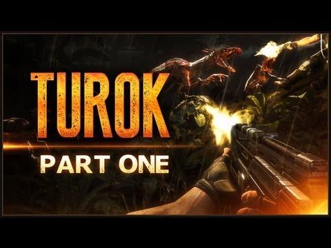 Turok   #1   Going To Dinosaur Hell.