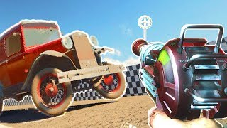 VEHICLES IN COD ZOMBIES! WTF? Call of Duty Black Ops 3 Mario Kart Mod Gameplay