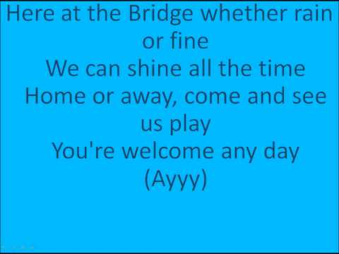 Chelsea F.C Theme Song with lyrics ( Blue Is The Colour )