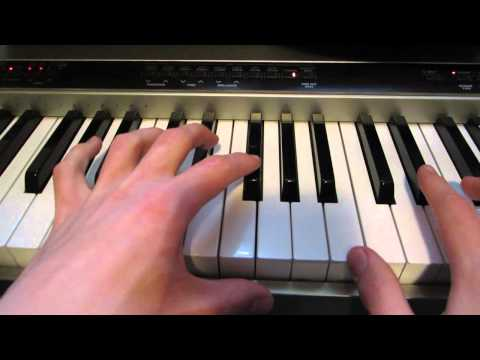 How to play Coldplay - A Hopeful Transmission on piano