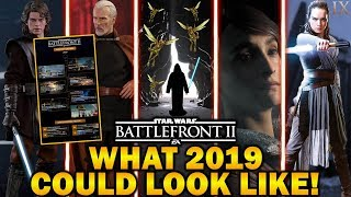 WHAT 2019 COULD LOOK LIKE! Star Wars Battlefront 2
