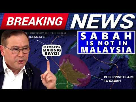 BREAKING NEWS SECRETARY LOCSIN TELLS US EMBASSY SABAH IS NOT IN MALAYSIA |MALAYSIA STOP THE PAYMENT?