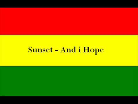 Sunset - And i Hope