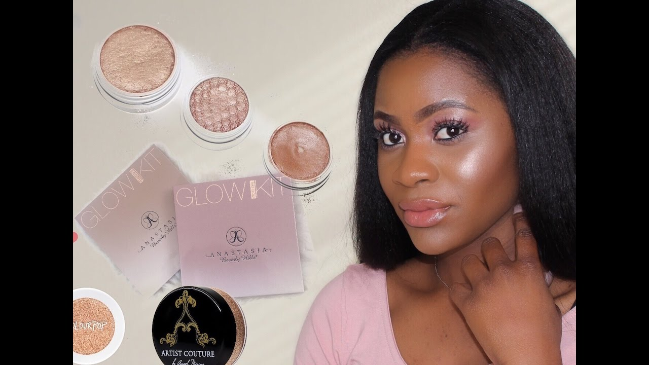4a9c9425c04 10+ BEST HIGHLIGHTERS FOR DARK SKIN TONES. - YouTube