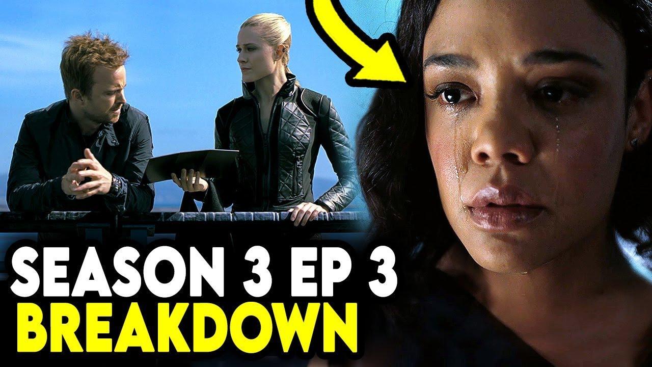 "Download Westworld Season 3 Episode 3 Breakdown & Explained - ""The Absence Of Field"""