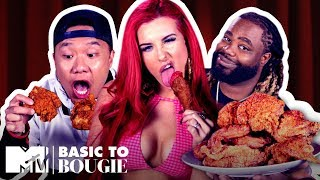 Lord, Thank You For This Chicken!! 🍗 ft. Justina Valentine | Basic to Bougie Season 2 | MTV