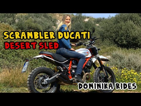 Scrambler Ducati Desert Sled / Dominika Rides