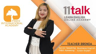 Learn English Online with Teacher Brenda at 11talk