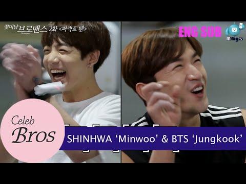 """Shinhwa Minwoo & BTS Jungkook, Celeb Bros S8 EP2 """"Perfect Man"""""""