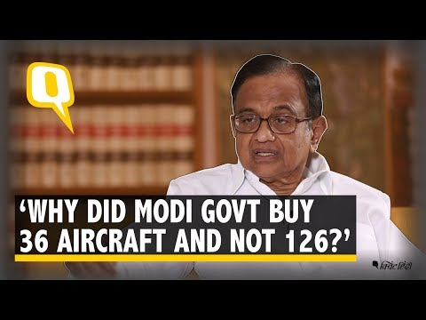 P Chidambaram: The Government Has No Answers on Rafale | The Quint Mp3