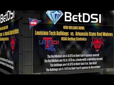New Orleans Bowl Odds | Louisiana Tech Bulldogs Vs Arkansas Red Wolves Bettting Picks