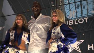 HUBLOT SIGNS THE DALLAS COWBOYS