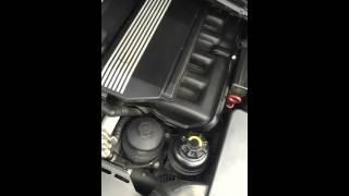 Странный звук из капота e46 когда машина холодная