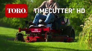 Toro Timecutter HD & Titan HD Zero Turn Mowers