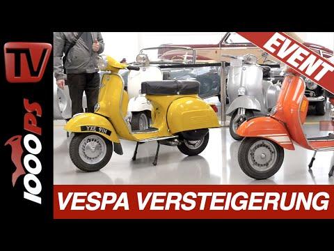 Vespa Auktion - Im Dorotheum werden Moped-Raritäten versteigert.