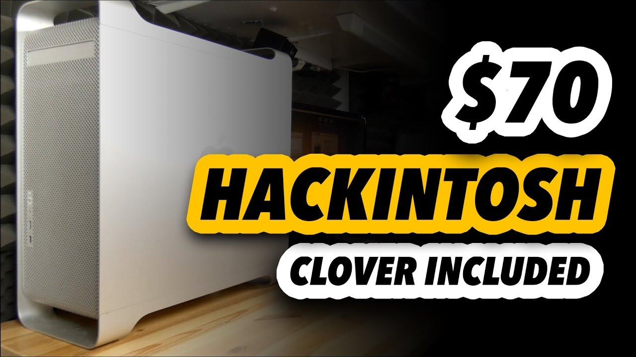 To Build a Hackintosh Was Never Easier! i3-4330 - Clover