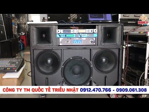 Thùng Loa Kéo Công suất cao Sub 40 - Bass Neo 30 - Treble 850 RCF Cực khủng