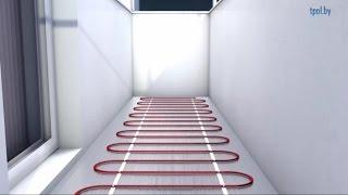 видео Теплый пол на балконе и лоджии: инструкция по устройству своими руками